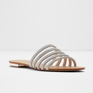Aldo Droelian Rhinestone Strap Sandals